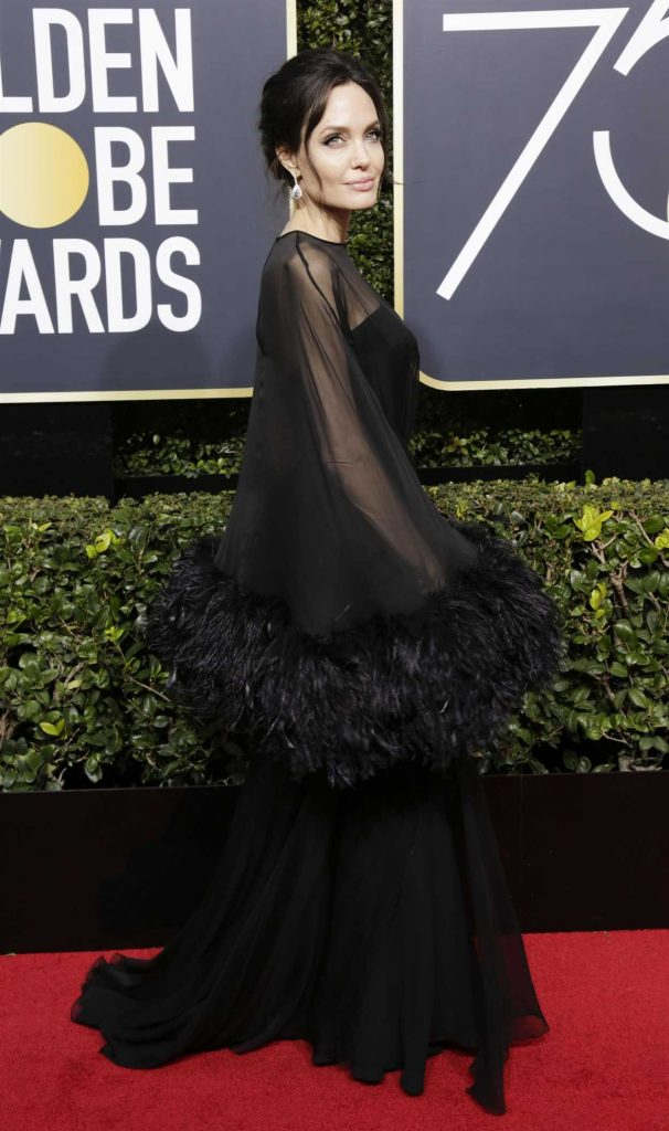 Angelina Jolie at the 75th Annual Golden Globe Awards in Beverly Hills 01/07/2018-3