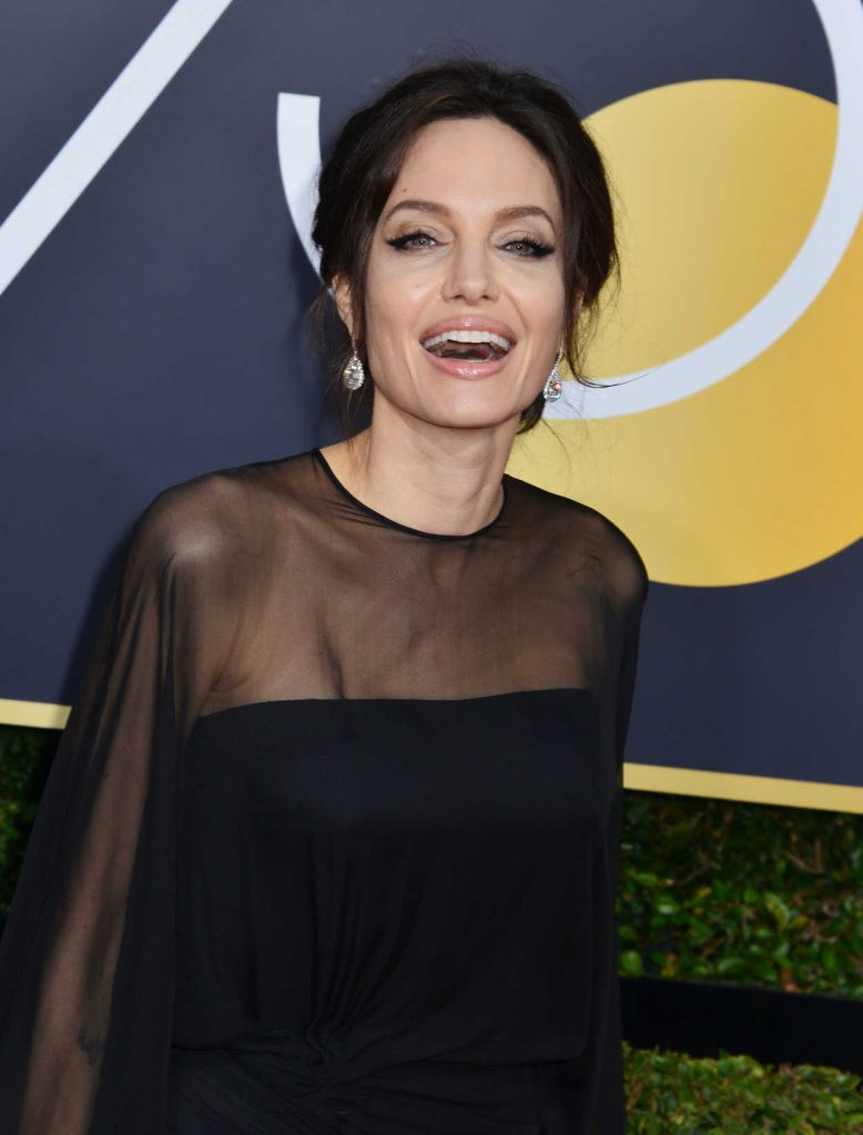 Angelina Jolie at the 75th Annual Golden Globe Awards in Beverly Hills 01/07/2018-4