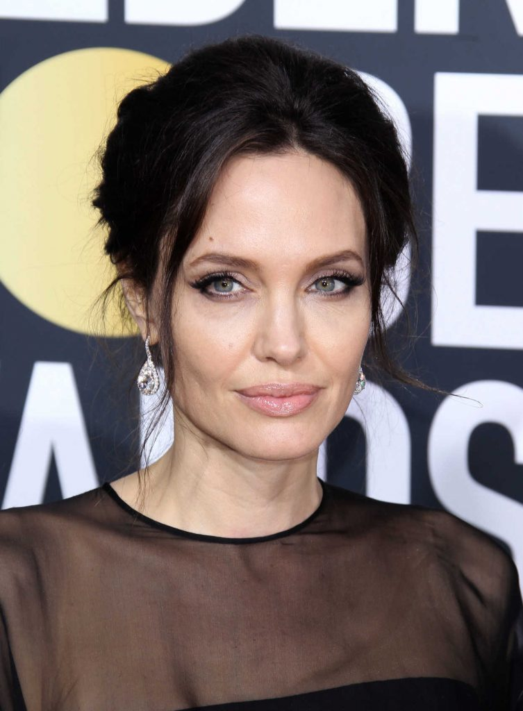Angelina Jolie at the 75th Annual Golden Globe Awards in Beverly Hills 01/07/2018-5