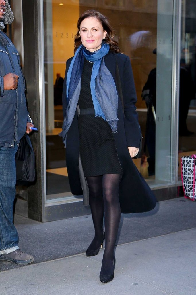 Anna Paquin Leaves the SiriusXM Studios in New York 01/18/2018-1