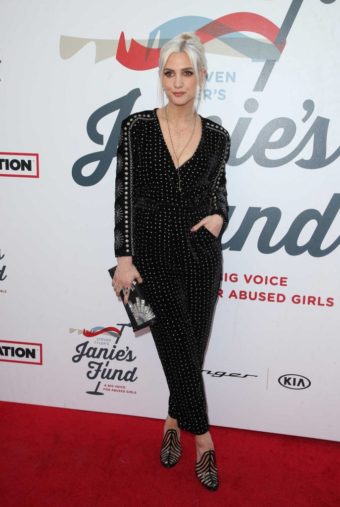 Ashlee Simpson at Inaugural Janie's Fund Gala and Grammy Awards Viewing Party in LA 01/28/2018-1