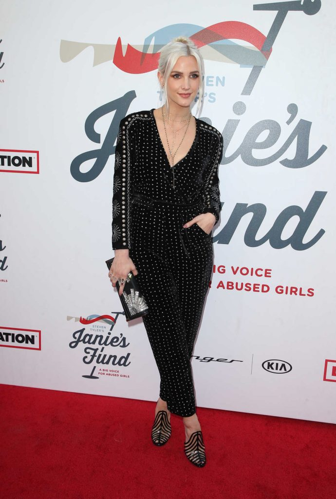 Ashlee Simpson at Inaugural Janie's Fund Gala and Grammy Awards Viewing Party in LA 01/28/2018-2