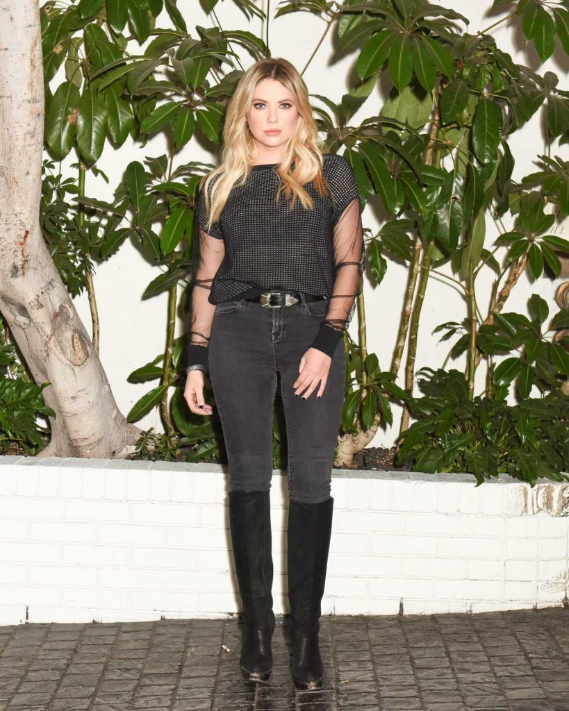Ashley Benson Attends W Magazine's Best Performances Party in LA 01/04/2018-1