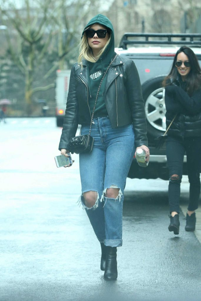 Ashley Benson Leaves Her Apartment in New York City 01/28/2018-1