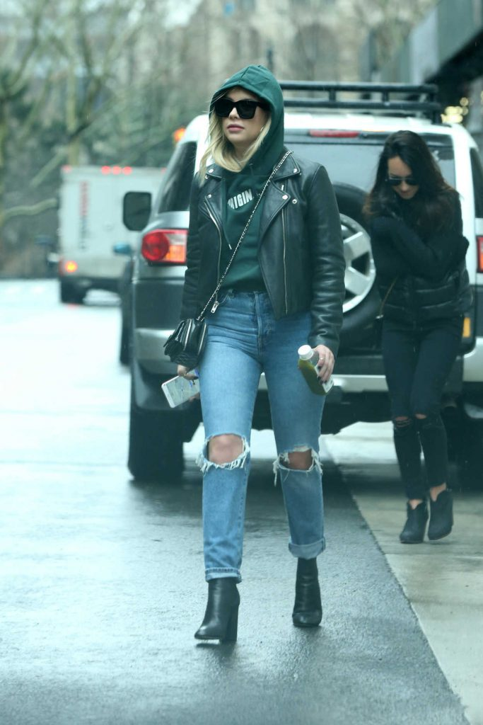 Ashley Benson Leaves Her Apartment in New York City 01/28/2018-3