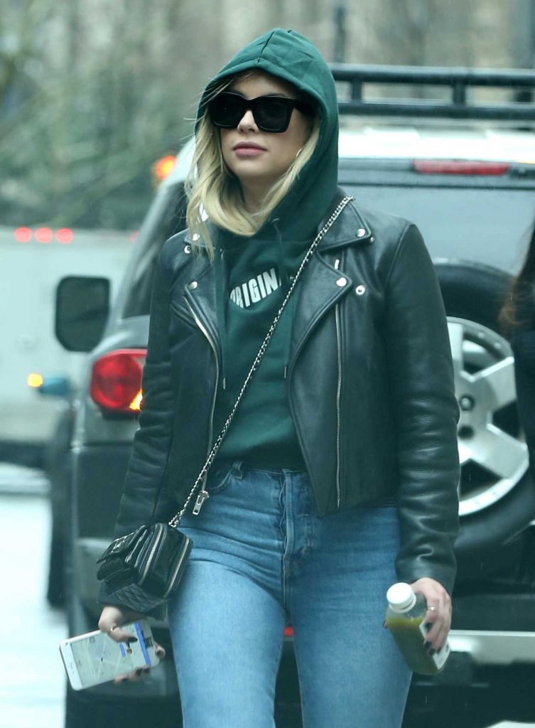 Ashley Benson Leaves Her Apartment in New York City 01/28/2018-4