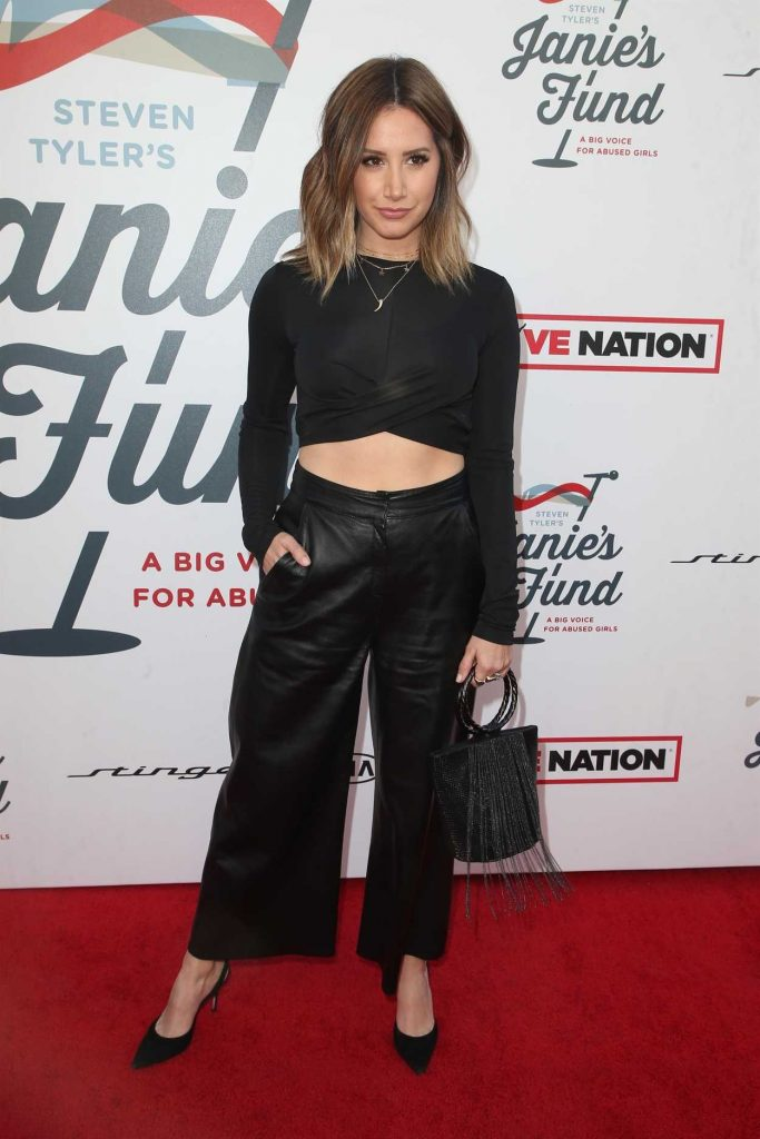 Ashley Tisdale at Inaugural Janie's Fund Gala and Grammy Awards Viewing Party in LA 01/28/2018-1