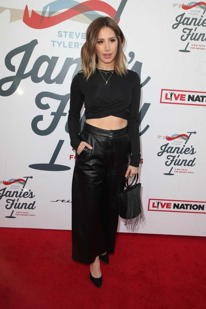 Ashley Tisdale at Inaugural Janie's Fund Gala and Grammy Awards Viewing Party in LA 01/28/2018-2