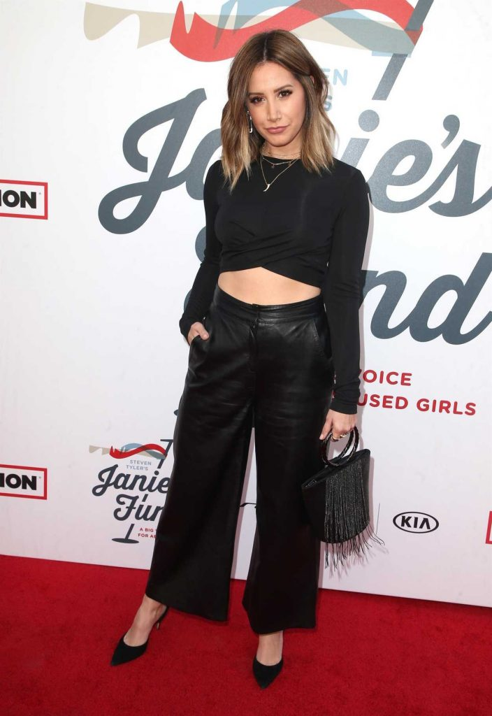 Ashley Tisdale at Inaugural Janie's Fund Gala and Grammy Awards Viewing Party in LA 01/28/2018-3