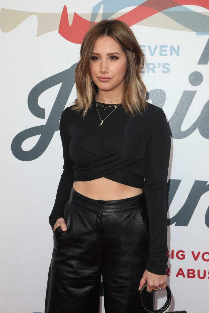 Ashley Tisdale at Inaugural Janie's Fund Gala and Grammy Awards Viewing Party in LA 01/28/2018-4