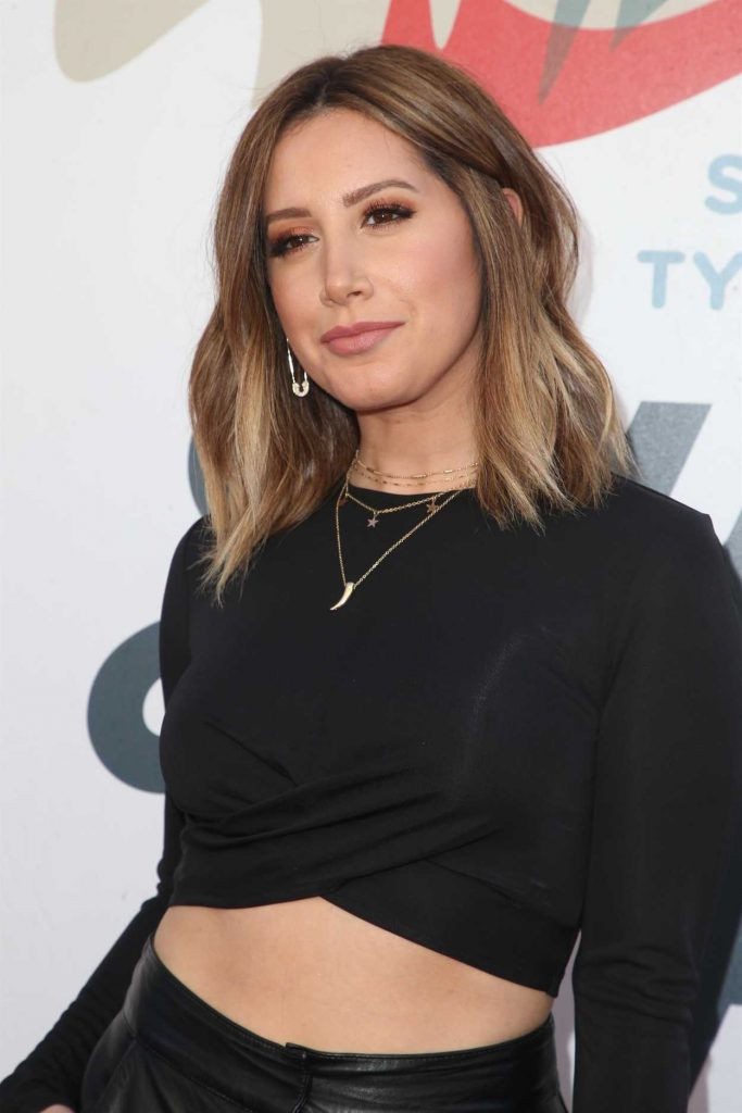 Ashley Tisdale at Inaugural Janie's Fund Gala and Grammy Awards Viewing Party in LA 01/28/2018-5
