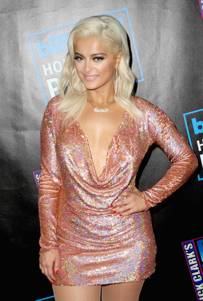 Bebe Rexha Attends Dick Clark's New Year's Rockin Eve with Ryan Seacrest 2018 in Los Angeles 12/31/2017-2
