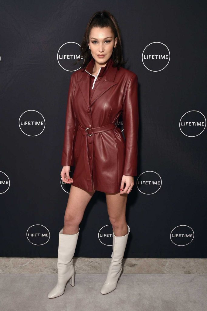 Bella Hadid at the Making a Model With Yolanda Hadid Premiere in New York 01/11/2018-2