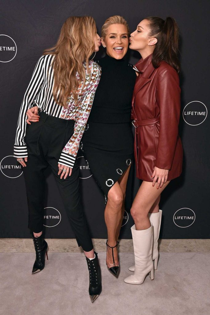 Bella Hadid at the Making a Model With Yolanda Hadid Premiere in New York 01/11/2018-4