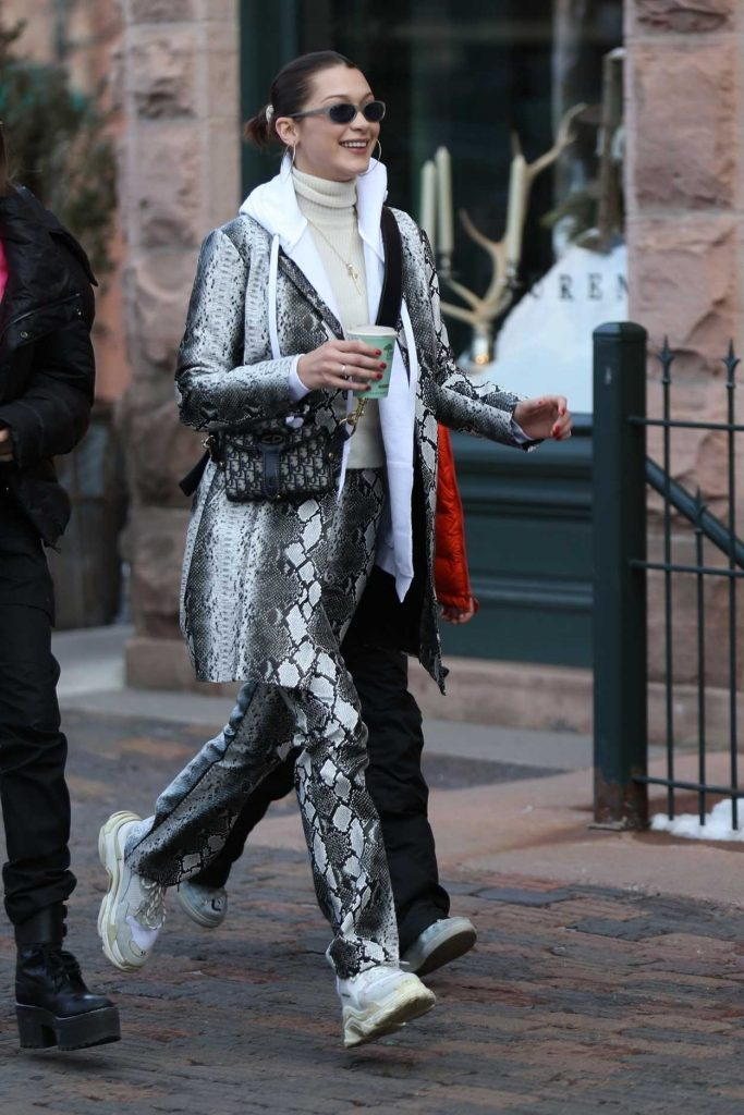 Bella Hadid Was Seen Out in Aspen with Friends 12/30/2017-1