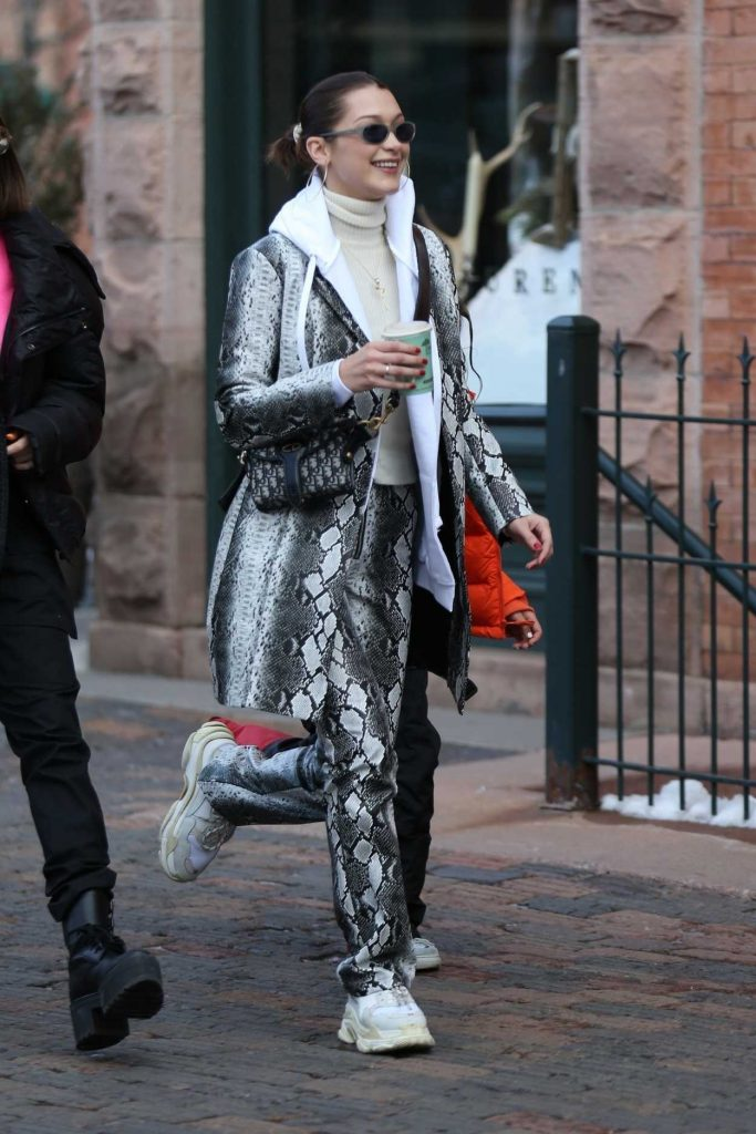 Bella Hadid Was Seen Out in Aspen with Friends 12/30/2017-4