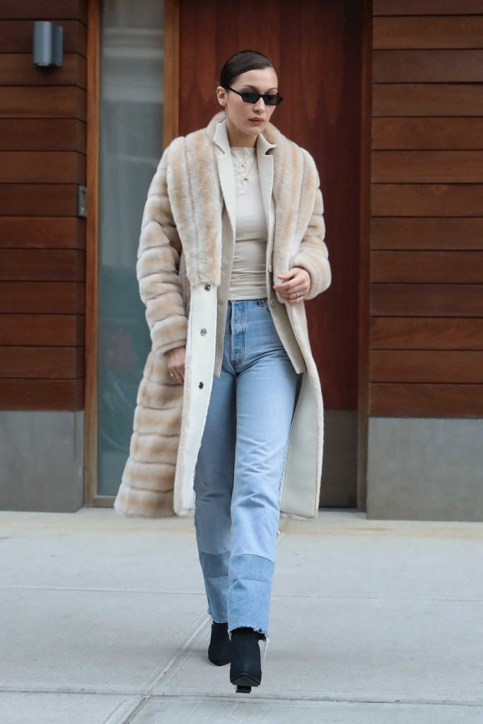 Bella Hadid Was Spotted Out in New York City 01/25/2018-1