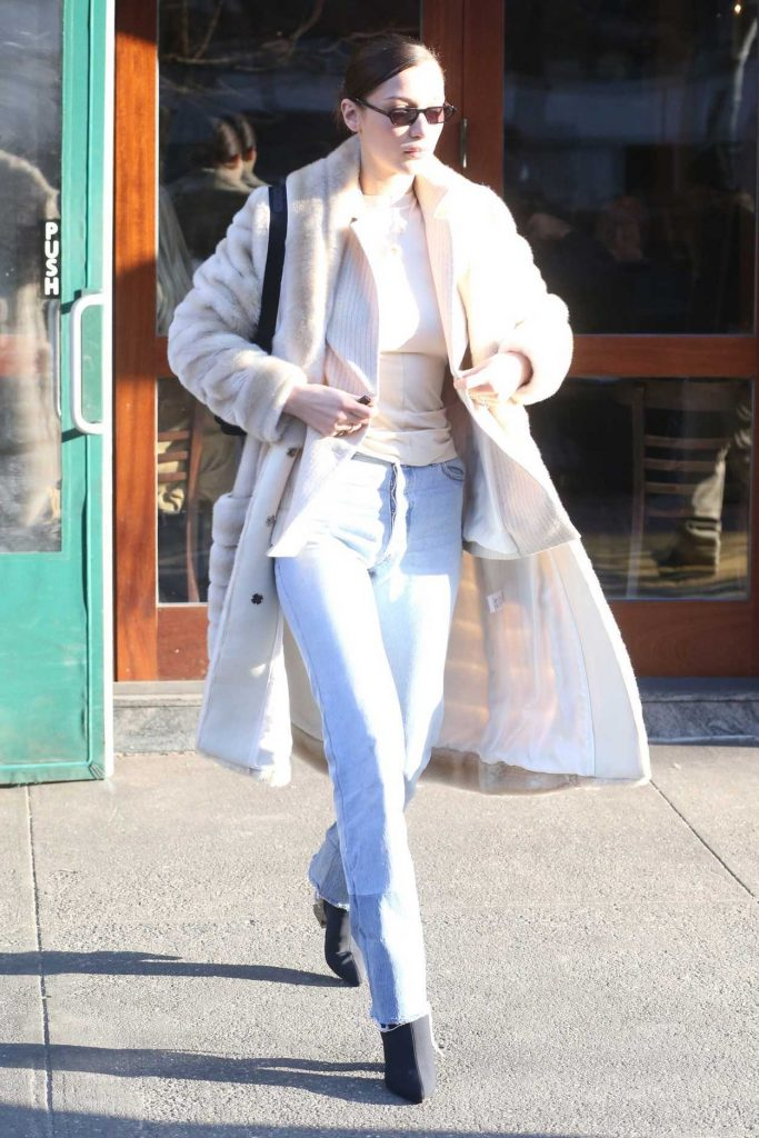 Bella Hadid Was Spotted Out in New York City 01/25/2018-3