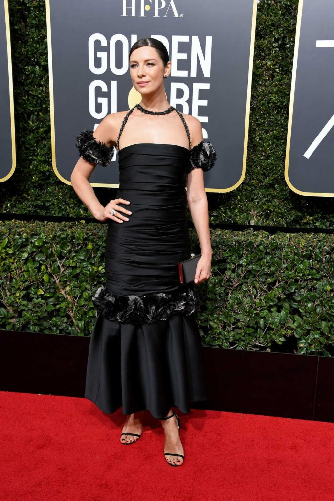 Caitriona Balfe at the 75th Annual Golden Globe Awards in Beverly Hills 01/07/2018-2