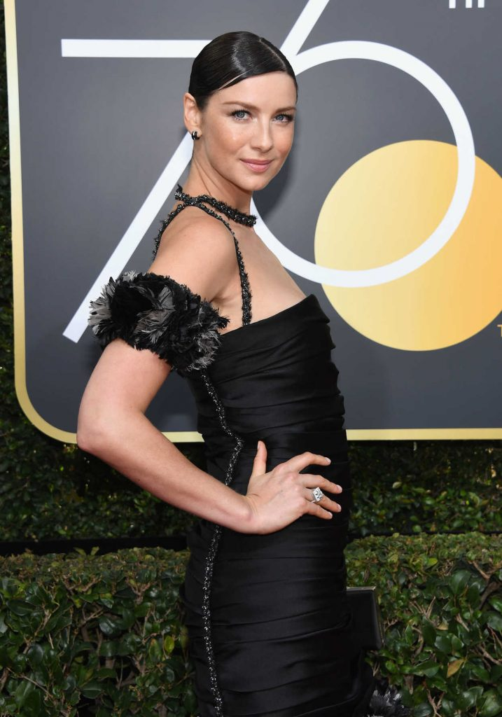 Caitriona Balfe at the 75th Annual Golden Globe Awards in Beverly Hills 01/07/2018-4