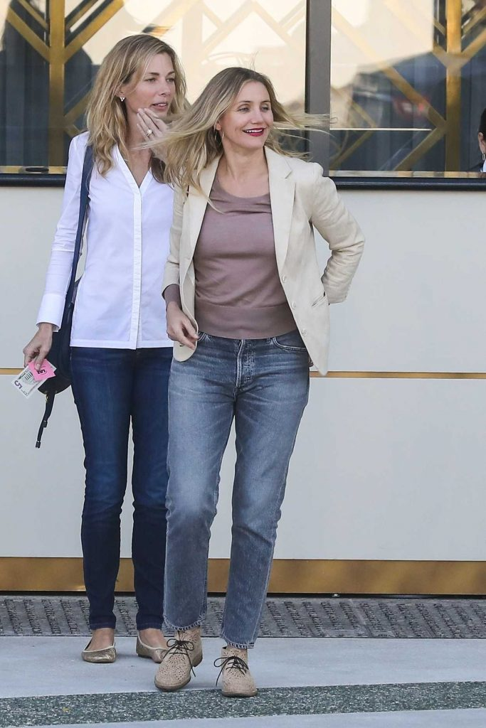 Cameron Diaz Was Spotted Out in Beverly Hills 01/18/2018-1