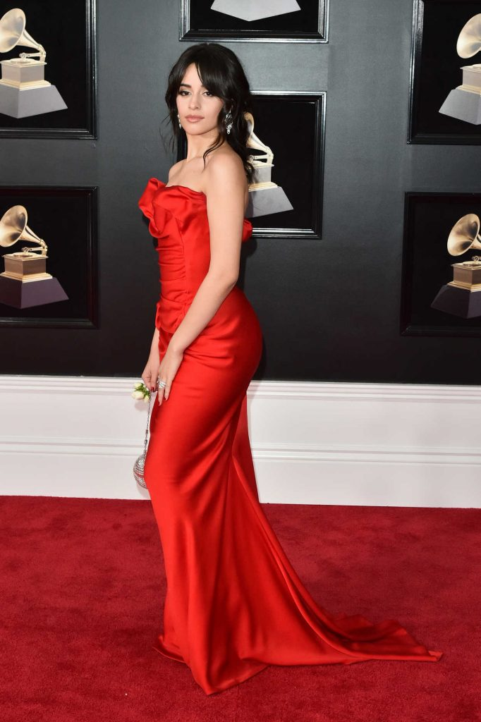 Camila Cabello at the 60th Annual Grammy Awards at Madison Square Garden in New York City 01/28/2018-2