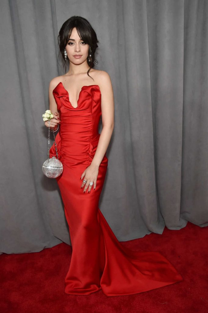 Camila Cabello at the 60th Annual Grammy Awards at Madison Square Garden in New York City 01/28/2018-4