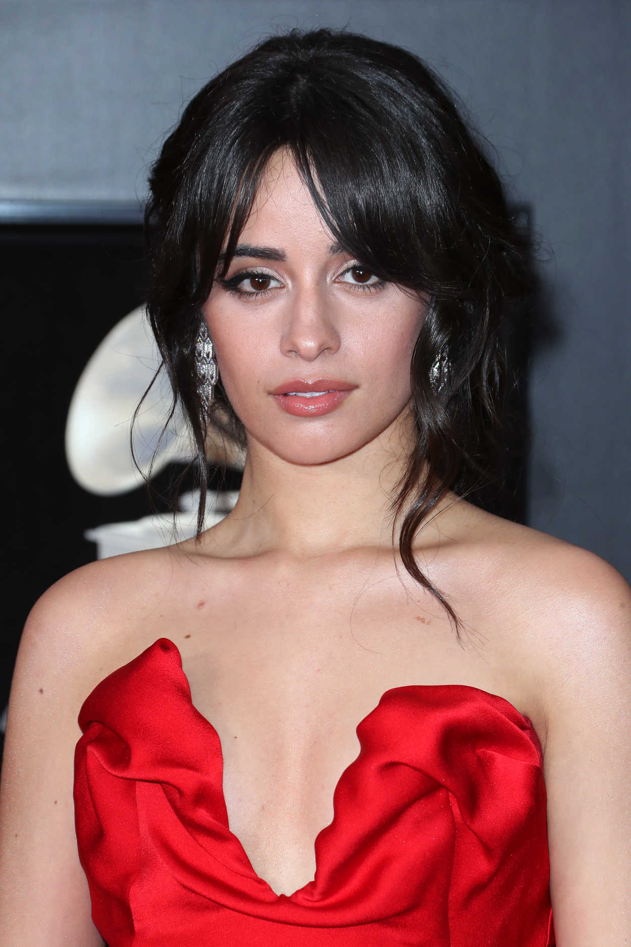 Camila Cabello at the 60th Annual Grammy Awards at Madison ...