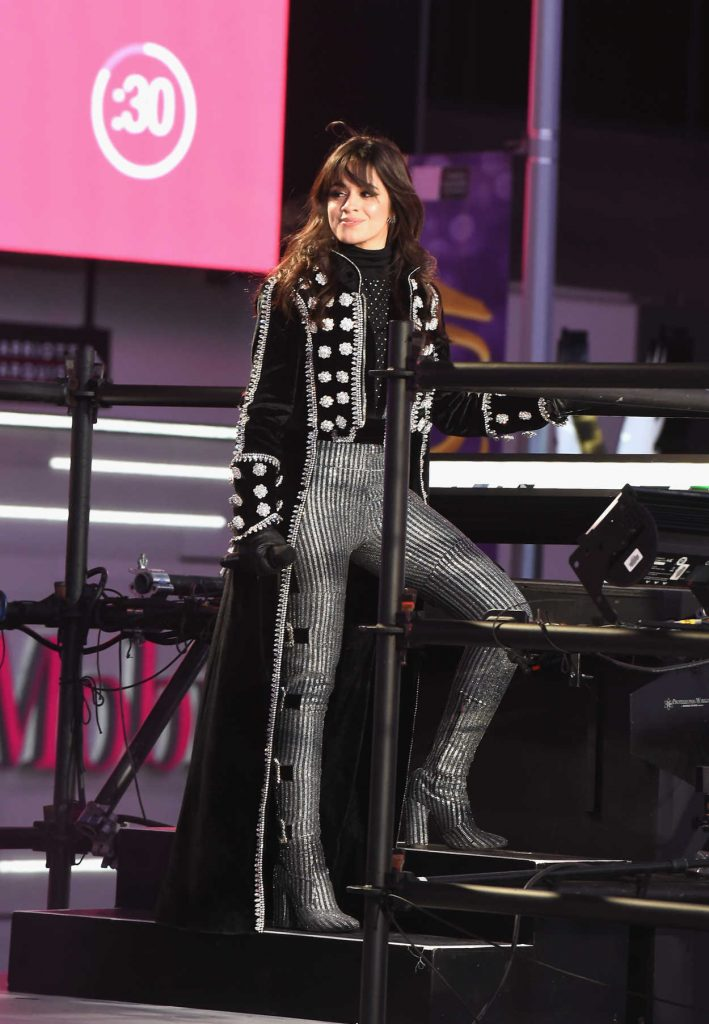 Camila Cabello Attends Dick Clarks New Years Rockin Eve -8481