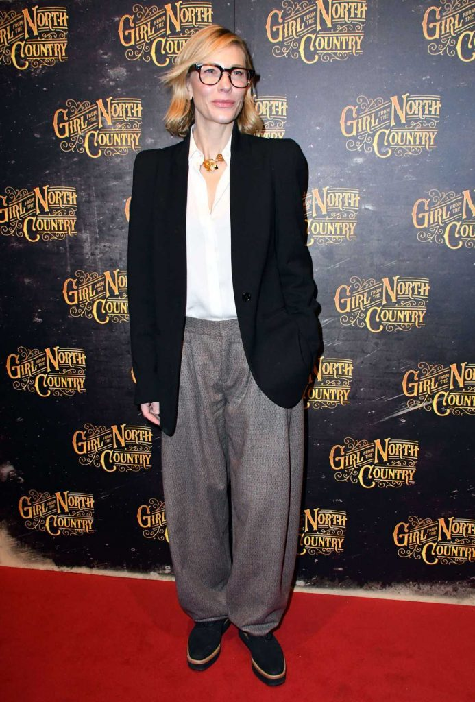 Cate Blanchett at the Girl from the North Country Play Opening Night in London 01/11/2018-1