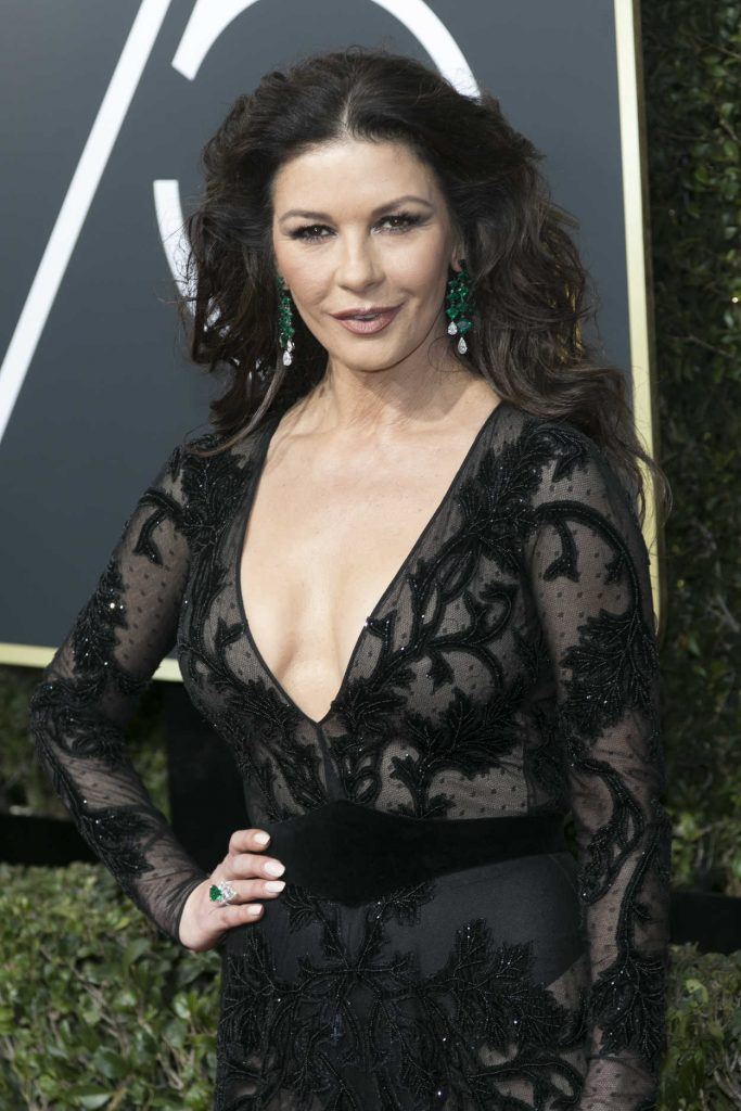 Catherine Zeta-Jones at the 75th Annual Golden Globe Awards in Beverly Hills 01/07/2018-4