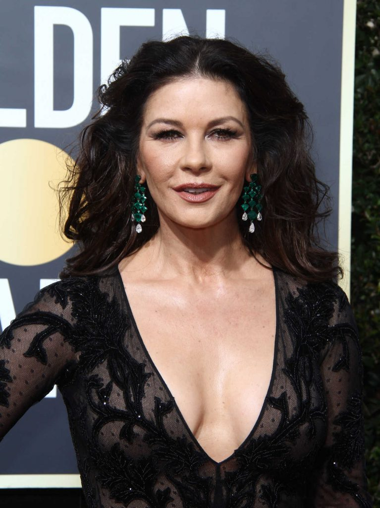 Catherine Zeta-Jones at the 75th Annual Golden Globe Awards in Beverly Hills 01/07/2018-5
