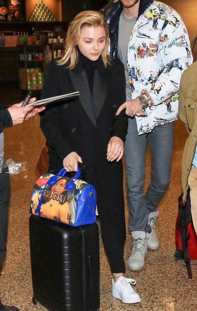 Chloe Moretz Arrives at Salt Lake City Airport 01/19/2018-1