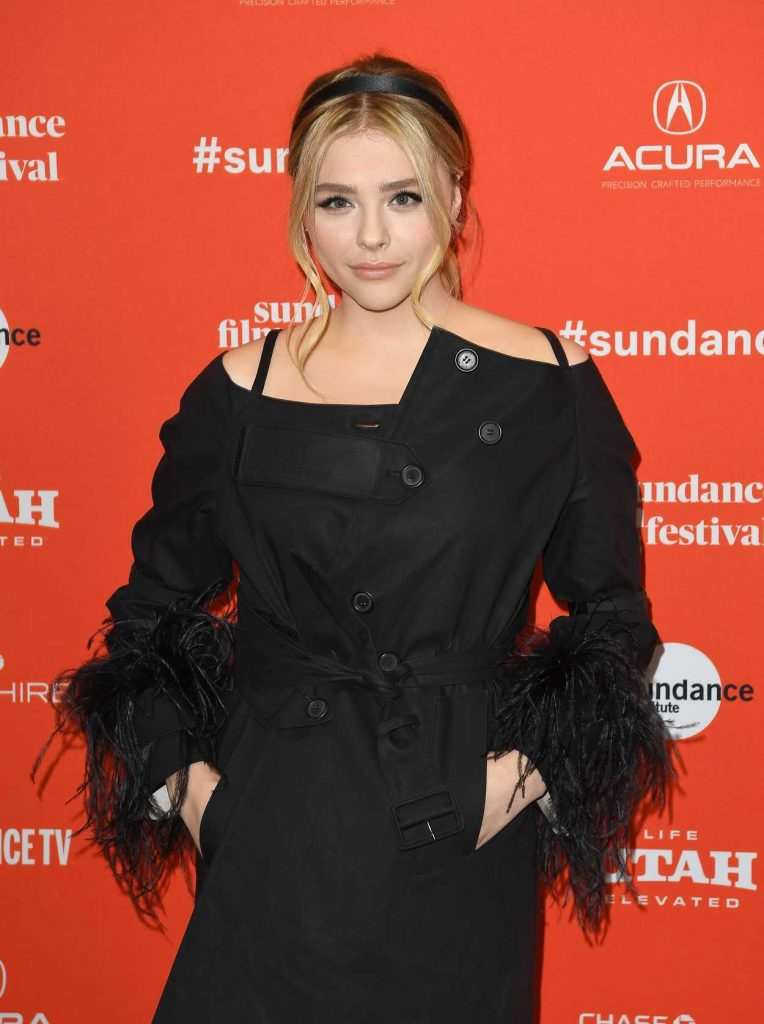 Chloe Moretz at The Miseducation of Cameron Post Premiere During 2018 Sundance Film Festival in Park City 01/22/2018-5
