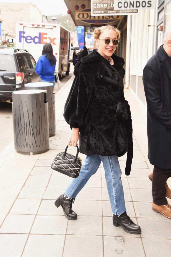 Chloe Sevigny Was Seen in Park City During 2018 Sundance Film Festival 01/19/2018-2