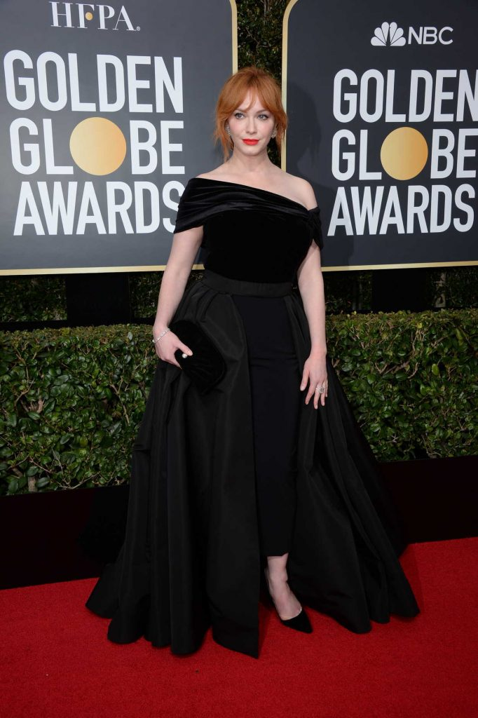 Christina Hendricks at the 75th Annual Golden Globe Awards in Beverly Hills 01/07/2018-1