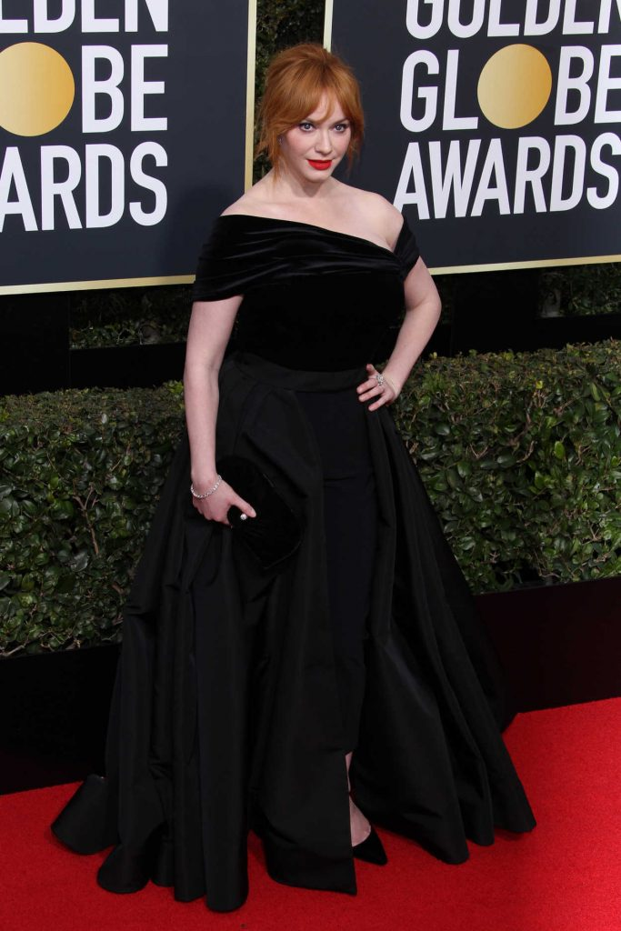 Christina Hendricks at the 75th Annual Golden Globe Awards in Beverly Hills 01/07/2018-3