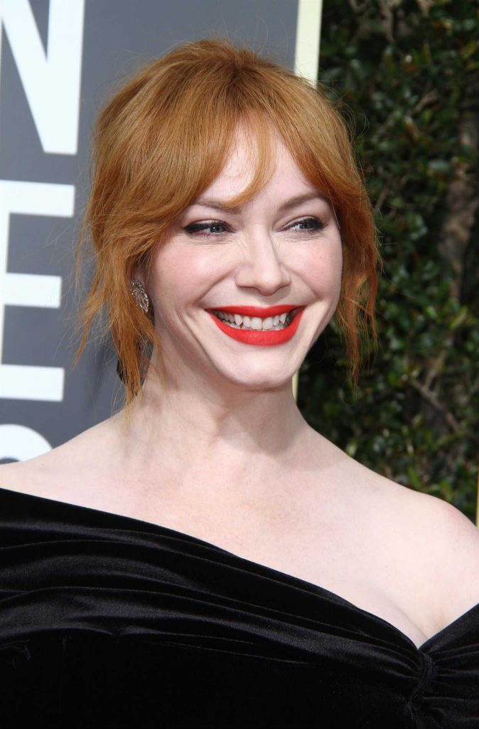 Christina Hendricks at the 75th Annual Golden Globe Awards in Beverly Hills 01/07/2018-5