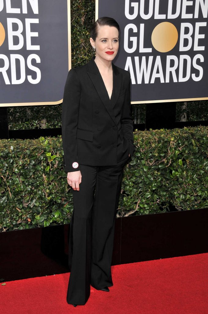 Claire Foy at the 75th Annual Golden Globe Awards in Beverly Hills 01/07/2018-1
