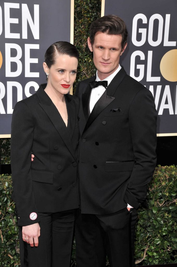 Claire Foy at the 75th Annual Golden Globe Awards in Beverly Hills 01/07/2018-4
