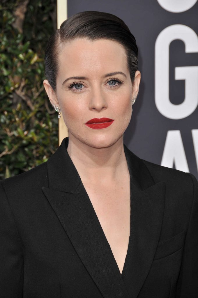 Claire Foy at the 75th Annual Golden Globe Awards in Beverly Hills 01/07/2018-5