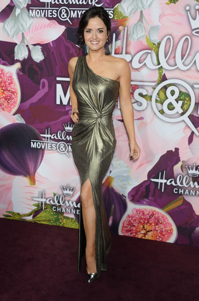 Danica McKellar at the Hallmark Channel All-Star Party During the TCA Winter Press Tour in Los Angeles 01/13/2018-2