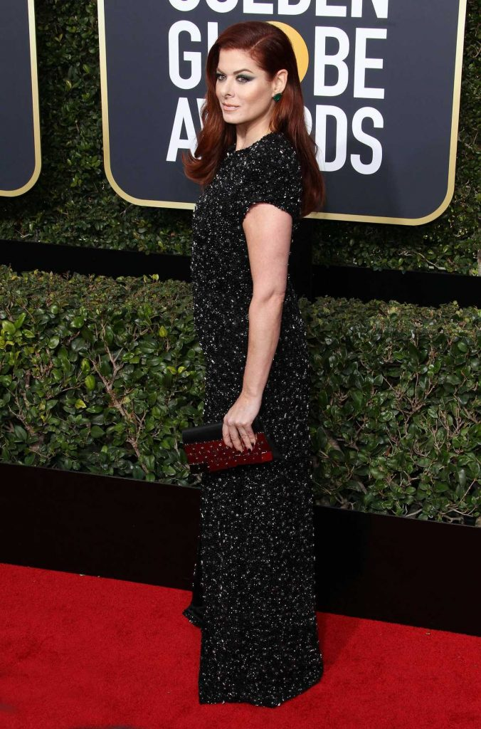 Debra Messing at the 75th Annual Golden Globe Awards in Beverly Hills 01/07/2018-3