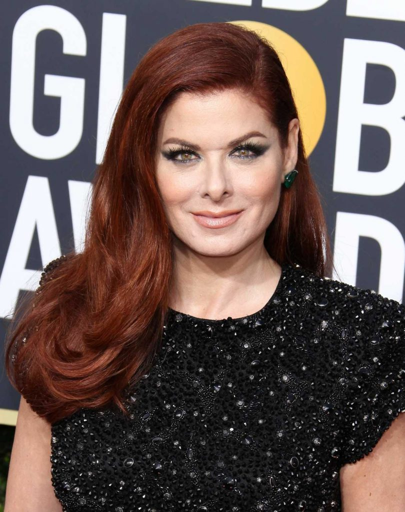 Debra Messing at the 75th Annual Golden Globe Awards in Beverly Hills 01/07/2018-5