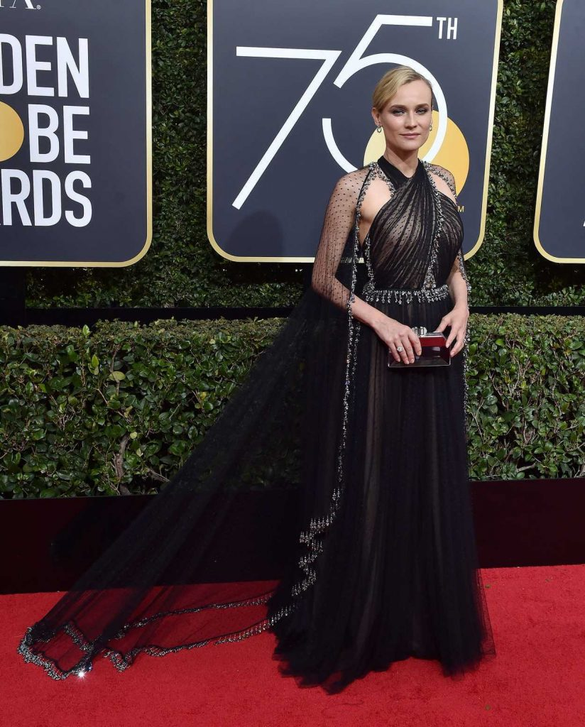 Diane Kruger at the 75th Annual Golden Globe Awards in Beverly Hills 01/07/2018-1
