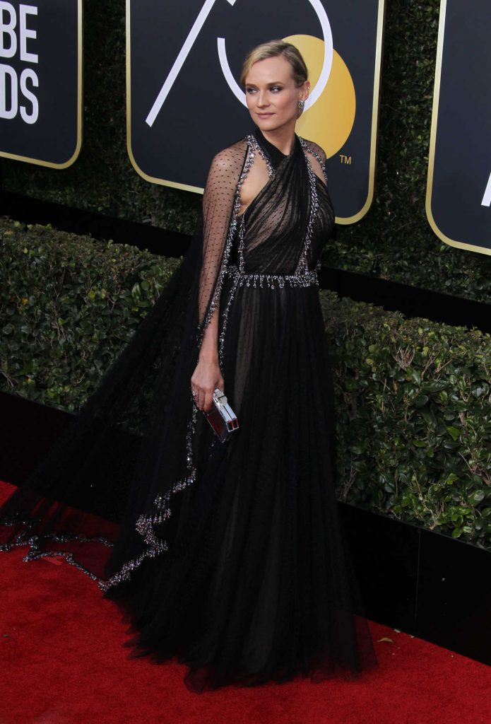 Diane Kruger at the 75th Annual Golden Globe Awards in Beverly Hills 01/07/2018-2