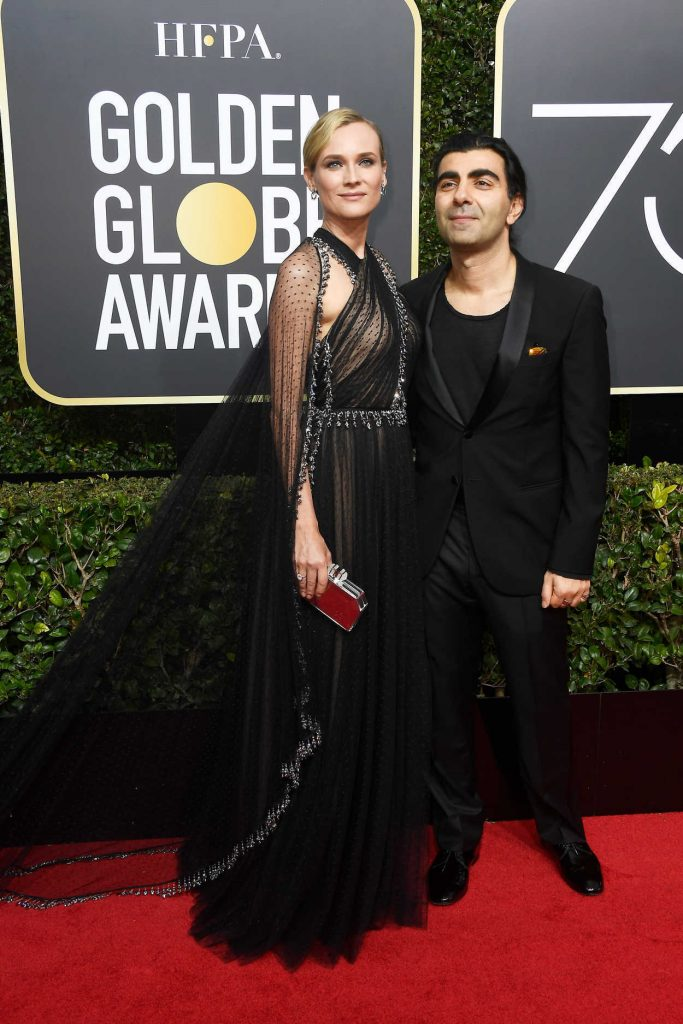 Diane Kruger at the 75th Annual Golden Globe Awards in Beverly Hills 01/07/2018-3