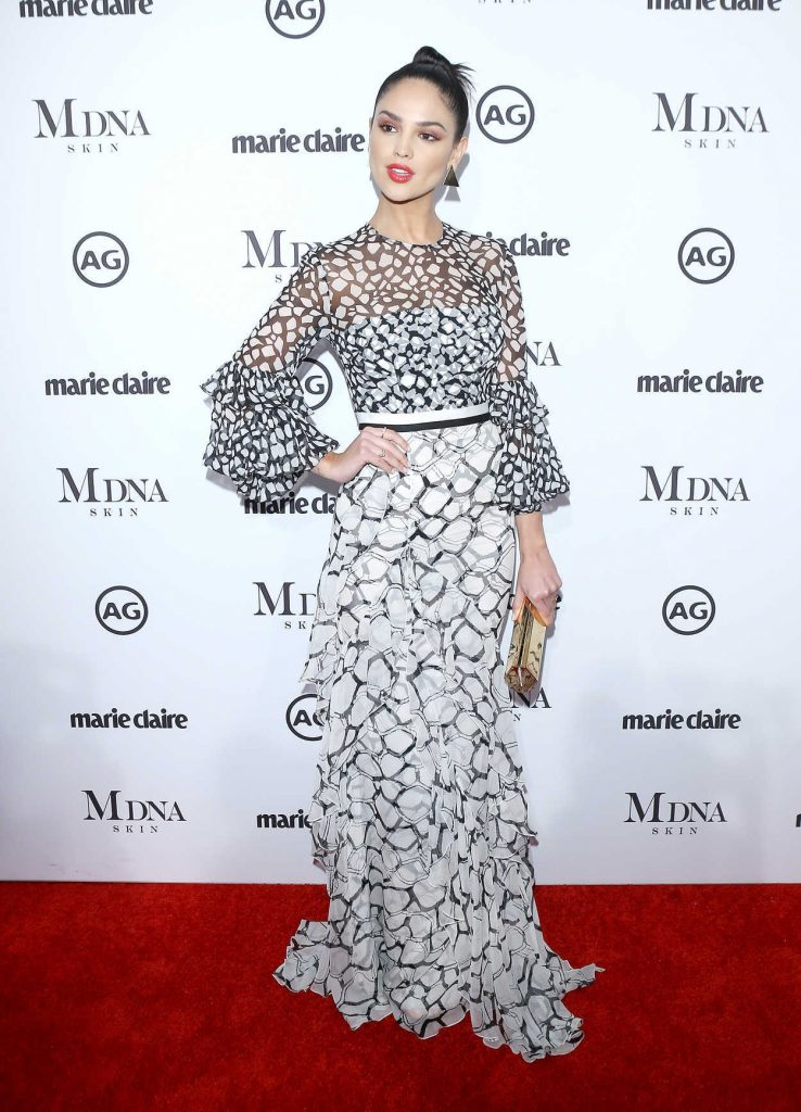 Eiza Gonzalez at the Marie Claire Image Makers Awards in Los Angeles 01/11/2018-2