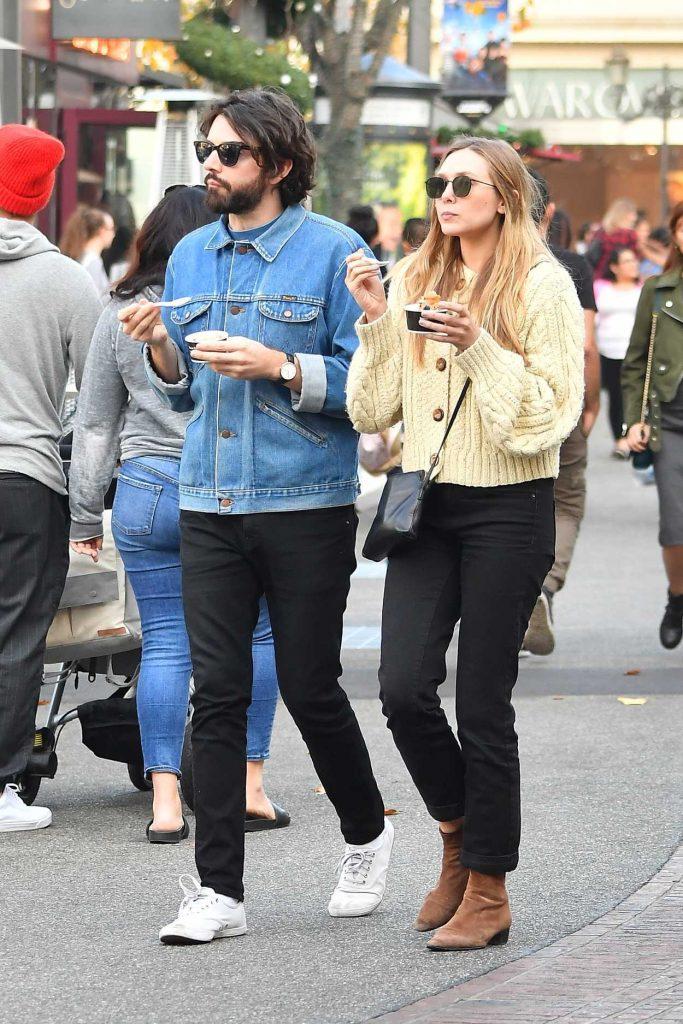 Elizabeth Olsen Was Spotted with Her Boyfriend Robbie Arnett Out in Los Angeles 12/30/2017-3