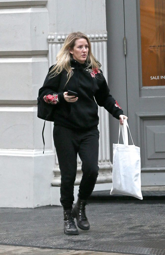 Ellie Goulding Goes Shopping in New York City 01/10/2018-3